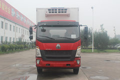 中国重汽HOWO G5X中卡 180马力 4X2 6.6米冷藏车(济南重汽)(JYJ5187XLCE)