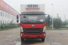 中国重汽HOWO G5X 180马力 4X2 6.6米冷藏车(绿叶牌)(JYJ5187XLCE)