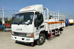 江淮 骏铃E5 130马力 4X2 4.1米气瓶运输车(HFC5040TQPV3Z)