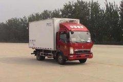 重汽HOWO 悍将 116马力 4X2 4米冷藏车(ZZ5047XLCF3315E145)
