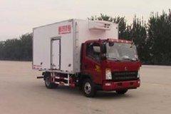 中国重汽HOWO 统帅 物流版 141马力 4X2 4米冷藏车(ZZ5047XLCF341CE145)