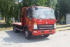 中国重汽HOWO 统帅 154马力 4X2 平板运输车(ZZ5047TPBF341CE145)