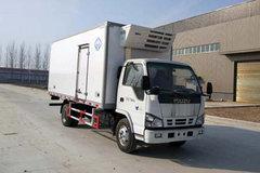 庆铃 五十铃KV600 130马力 4X2 5.1米冷藏车(河南冰熊牌)(BXL5071XLC1)