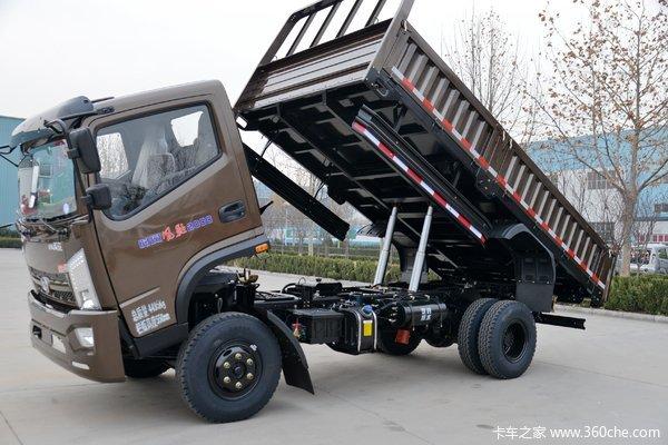 时风 风驰 120马力 4X2 4.19米自卸车(SSF3081DHJ75-X)