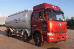 一汽解放 J6P 460马力 8X4 低密度粉粒物料运输车(中集凌宇)(CLY5310GFLCA5)
