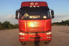一汽解放 J6P 500马力 8X4 低密度粉粒物料运输车(凌宇牌)(CLY5310GFLCA5)
