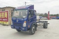 大运 奥普力 170马力 5.2米排半仓栅式轻卡底盘(CGC5140CCYHDE41E) 卡车图片