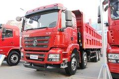 陕汽商用车 轩德X3 375马力 8X4 7.6米LNG自卸车 卡车图片