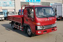 江淮 骏铃V5 120马力 3.85米排半栏板轻卡(HFC1045P92K1C2V)