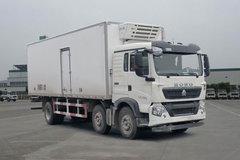 中国重汽 HOWO T5G 280马力 6X2 7.72米冷藏车(ZZ5257XLCM56CGE1)