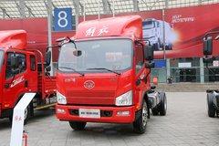 解放 J6F 165马力 3.85米排半仓栅式载货车底盘(8挡)(CA5044CCYP40K2L1E5A84) 卡车图片
