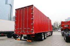 一汽解放 新J6P重卡 绿通版 320马力 8X4 9.65米厢式载货车(CA5320XXYP66K1L7T4E5) 卡车图片
