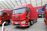 一汽解放 J6P重卡 绿通版 320马力 8X4 9.65米厢式载货车(CA5320XXYP66K1L7T4E5)