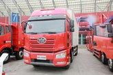 一汽解放 J6P重卡 420马力 8X4 9.2米冷藏车(CA5310XLCP66K2L7T4E5)