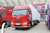 一汽解放 新J6P重卡 质惠版 375马力 4X2 8.6米中置轴厢式载货车(CA5180XXYP66K2L7E5)