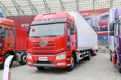 一汽解放 新J6P重卡 质惠版 375马力 4X2 8.6米中置轴厢式载货车(CA5180XXYP66K2L7E5) 卡车图片