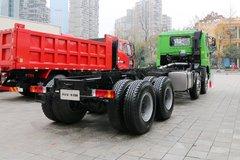 青岛解放 天V重卡 375马力 8X4 7.8米自卸车(CA3310P2K2L4T4E5A80) 卡车图片