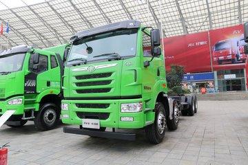 青岛解放 天V重卡 375马力 8X4 7.8米自卸车(CA3310P2K2L4T4E5A80)