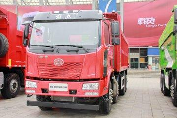 一汽解放 J6L重卡 280马力 8X4 6米自卸车