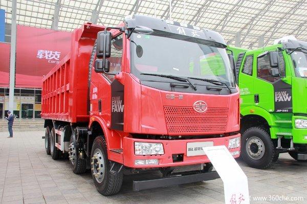 一汽解放 J6L中卡 220马力 4X2 5米自卸车(CA3180P62K1L2E5)