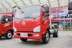 解放 J6F 140马力 CNG单排载货车底盘 卡车图片