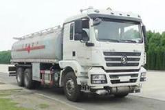 陕汽重卡 德龙新M3000 245马力 6X4 铝合金运油车(程力威牌)(CLW5250GYYLS5)