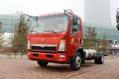 中国重汽HOWO 悍将G3W 143马力 4X2 4.165米LNG载货车底盘(ZZ1047F3415E145L) 卡车图片