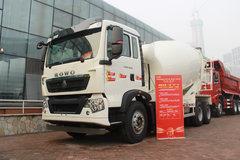 中国重汽 HOWO T5G 法规版 340马力 8X4 7.99方混凝土搅拌车(ZZ5317GJBN306GE1)图片