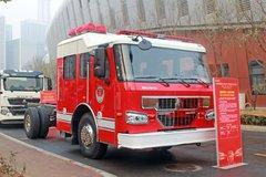 中国重汽 HOWO 440马力 4X2 消防车底盘