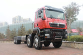 中国重汽 HOWO T5G重卡 480马力 8X8 特种作业车底盘(ZZ5447V547GE1H)