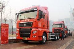 中国重汽 汕德卡SITRAK C7H重卡 430马力 6X4 LNG牵引车(ZZ4256V384HE1LB)