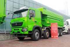 中国重汽HOWO T6G  380马力 8X4 渣土自卸车(ZZ3317N306WE1) 卡车图片