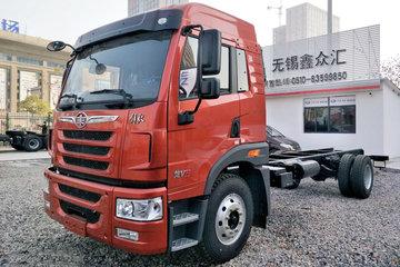 青岛解放 龙VH中卡 180马力 4X2 6.75米栏板载货车底盘(385后桥)(CA1169PK2L2E5A80)