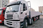 青岛解放 悍V重卡 260马力 8X2 9.5米栏板载货车(CA1310P1K2L7T10E5A80)