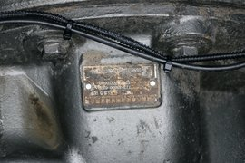 HOWO T5G电动牵引车底盘图片