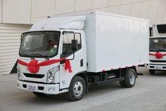 跃进 超越C100-33 116马力 4.18米单排厢式轻卡(SH5042XXYZFDCNZ2) 卡车图片