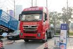 上汽红岩 杰狮重卡C500e 520马力 6X4牵引车(CQ4256HYVG334)图片