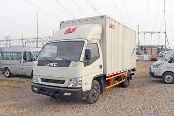 江铃 新款顺达宽体 129马力 4.07米单排厢式轻卡(国六)(JX5042XXYTG26)