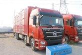 福田 欧曼GTL 6系重卡 360马力 8X4 9.6米厢式载货车(BJ5319XXY-AA)