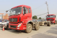 东风商用车 天龙重卡 220马力 6X2 9.6米栏板载货车底盘(DFH1250AXV) 卡车图片