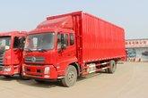 东风商用车 天锦中卡 180马力 4X2 6.75米排半厢式载货车(DFH5180XXYBX1DV)