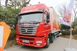 联合卡车 E270重卡 270马力 6X2 9.4米厢式载货车(QCC5252XXYD659M)图片