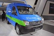 上汽大通EV80 菜鸟联盟定制版 3.8T 短轴中顶封闭厢货(纯电动)