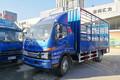 江淮 骏铃V7 154马力 5.2米排半仓栅式轻卡(HFC5091CCYP91K1D1V)图片