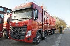 东风柳汽 乘龙H7重卡 350马力 8X4 9.5米仓栅式载货车(LZ5313CCYH7FB) 卡车图片