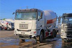 联合卡车U350 350马力 6X4 4.1方混凝土搅拌车底盘(4.769速比)(QCC5252GJBD654-E)