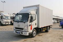 一汽红塔 解放公狮 125马力 4.21米单排厢式轻卡(CA5040XXYK6L3E5-2) 卡车图片