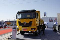 江铃重汽 远威重卡 350马力 8X4 7.6米LNG自卸车(SXQ3310M7N-4) 卡车图片