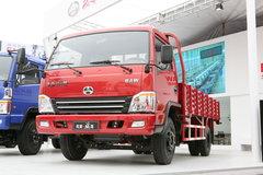 北京旗龙 103马力 4.3米单排栏板轻卡 卡车图片
