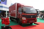 福田 欧马可3系 超能版 150马力 4.165米单排厢式轻卡(BJ5049V8BD6-FA)